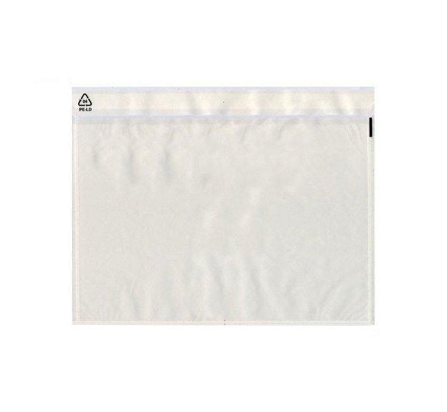 Paklijstenvelop onbedrukt C6 165 x 115 mm doos 1000 stuks