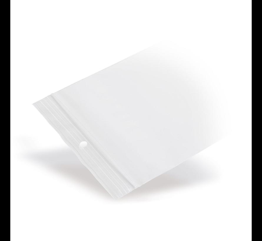 Gripzakje 250 x 350 mm transparant met druksluiting doos 1000 stuks