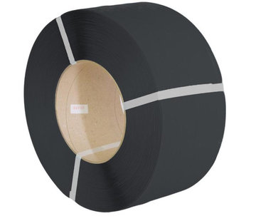 Omsnoeringsband PP 12,0 x 0,73 mm x 2000 m K406 zwart