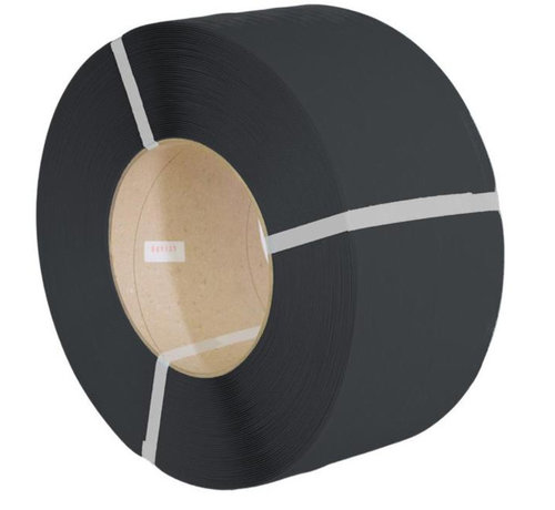 Omsnoeringsband PP 12,7 x 0,63 mm x 3000 m K406 zwart