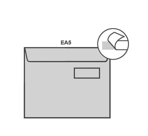 Specipack Witte envelop EA5 156 x 220 mm venster rechts doos 500 stuks