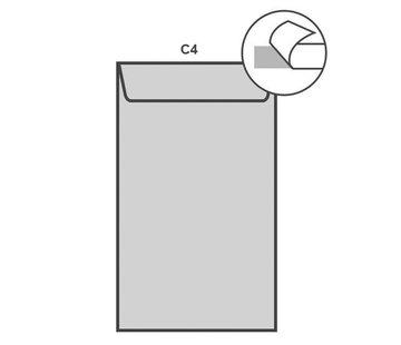 Specipack Witte akte envelop C4 229 x 324 mm doos 250 stuks
