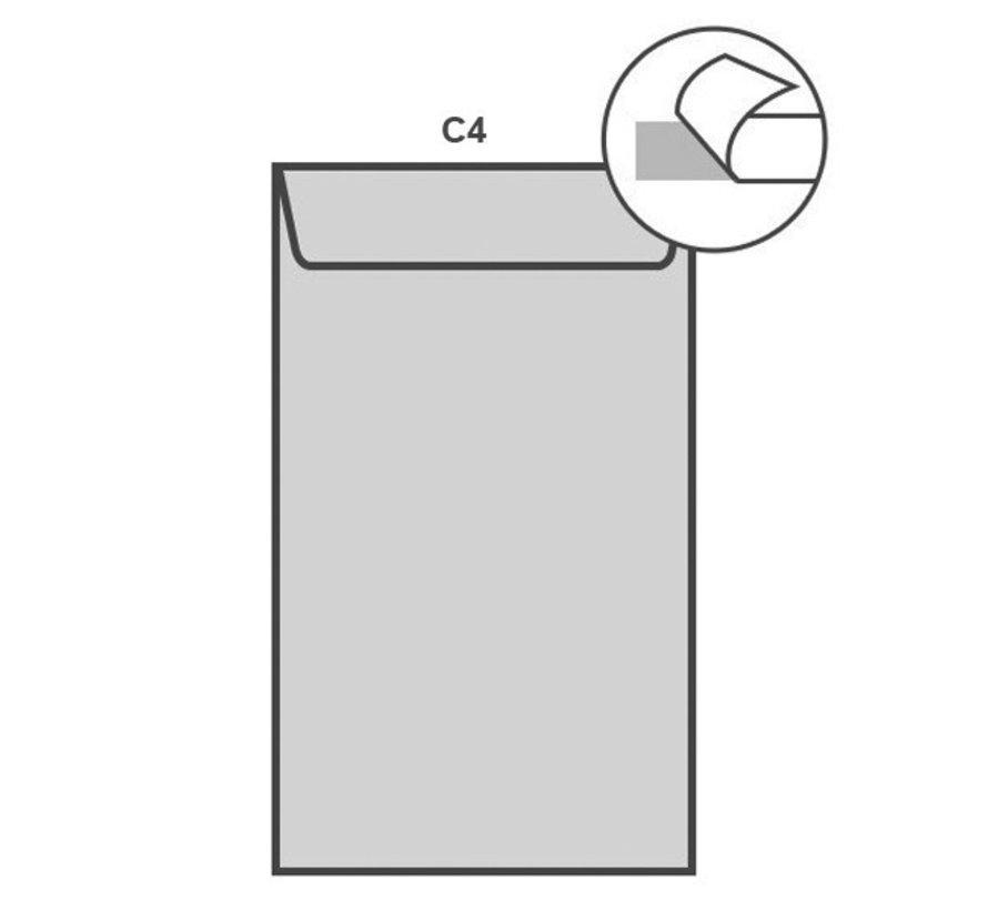Witte akte envelop C4 229 x 324 mm doos 250 stuks