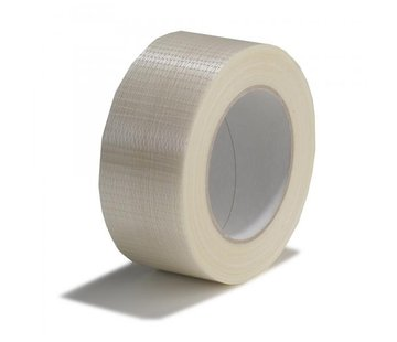 Rol Stucloper tape kruis versterkt 50 mm x 50 m
