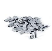 Metalen sluitzegels 13 mm voor omsnoeringsband 1000 stuks