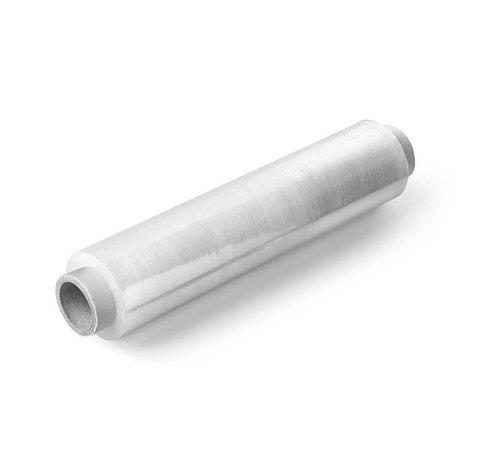 Wikkelfolie / stretchfolie per stuk 50 cm x 300 m transparant