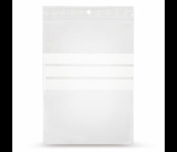 Specipack Gripzakje 160 x 230 mm met schrijfvlak en druksluiting doos 1000 stuks