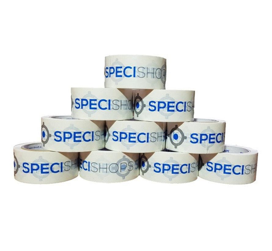 Bedrukte PVC Tape met Drie Kleuren bedrukt 50 mm x 66 m