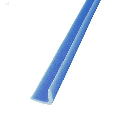 Schuimprofiel L-vorm 50 mm x 50 mm x 6 mm doos met 240 stuks - Lengte 1 meter per profiel