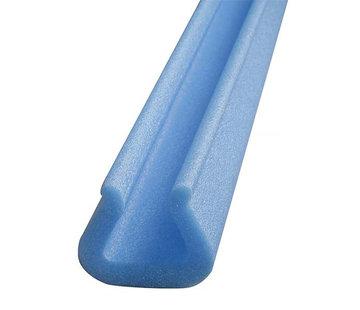 Schuimprofiel U-vorm Tulp 25 - 44 mm x 49 mm x 12 mm Doos 80 stuks - Lengte 1 meter per profiel