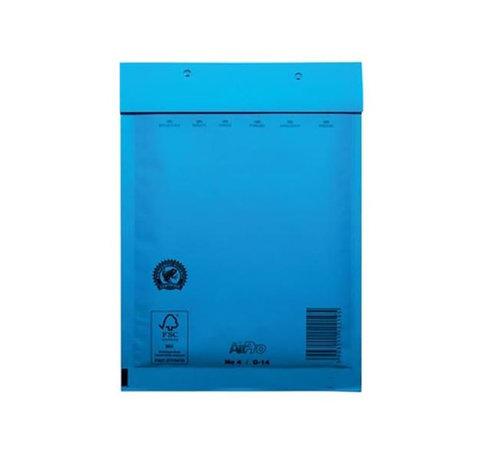 Specipack Blauwe luchtkussen envelop D 180 x 265 mm A5+ Blauw Gekleurd