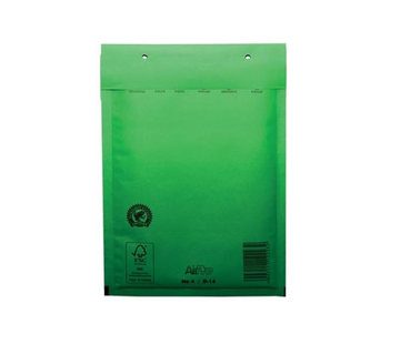 Specipack Groene luchtkussen envelop D 180 x 265 mm A5+ Groen Gekleurd  - Per 100 enveloppen te bestellen