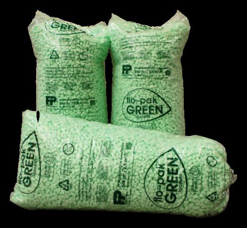 Flo-pak Opvulchips Biologisch afbreekbaar - Vulmateriaal - Zak 400 Liter - 8 vormige chips