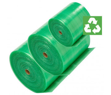 Green Gerecycled Noppenfolie - Milieuvriendelijk - 75 cm x 100 m