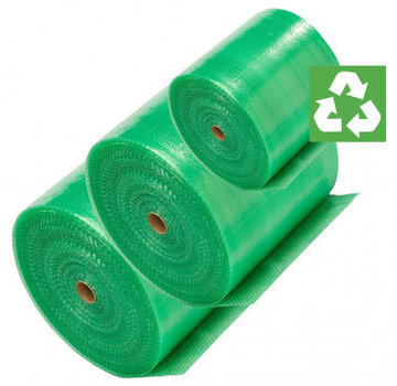 Specipack Specipack Green Gerecycled Noppenfolie - Milieuvriendelijk Bubbeltjesplastic - 100 cm x 100 m