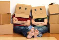Verhuisdozen helpen met verhuizen
