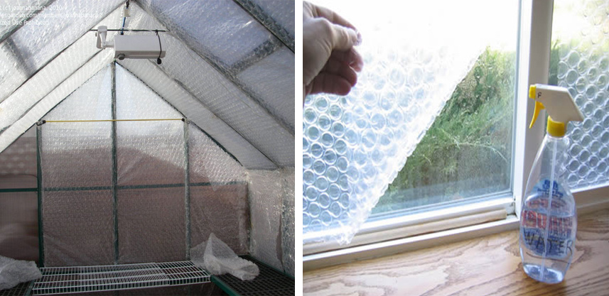 bubbeltjesplastic isolatie