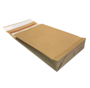 Specipack Kraft Verzendzak - Green E-commerce Blokbodem Mailer - 162 x 229 mm - 126 g/m2 - Dubbele Kleefstrip - Doos 250 enveloppen