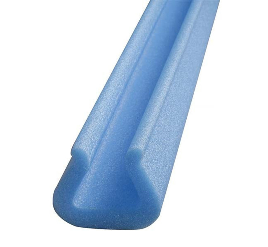 Schuimprofiel U-vorm Tulp 20 - 35 mm x 43 mm x 11 mm Doos 90 stuks - Lengte 1 meter per profiel