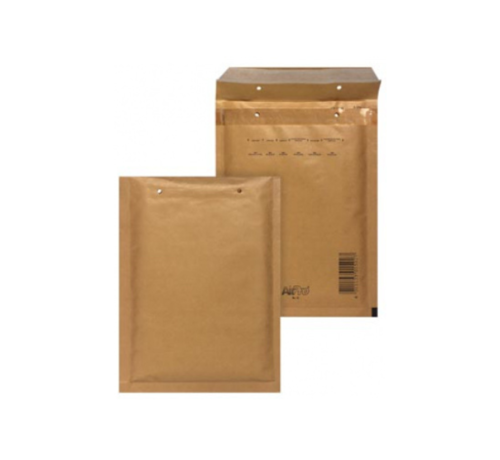 Specipack Luchtkussen envelop Bruin A - Bubbelenvelop 100 x 165 mm