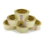 Verpakkingstape High Tack Acryl Tape Transparant 32 my - 6 Rollen
