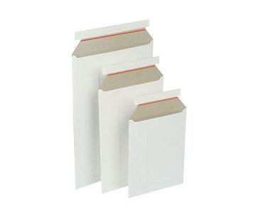 Kartonnen envelop 250 x 353 mm - Wit - Doos 100 stuks
