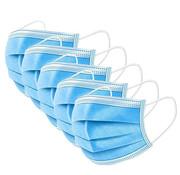 3-laags mondkapjes - Gesealde verpakking - latexvrij met elastiek en neusclip - dispenserdoos 50 stuks - FFP2 conform EN 149:2001+A1:2009