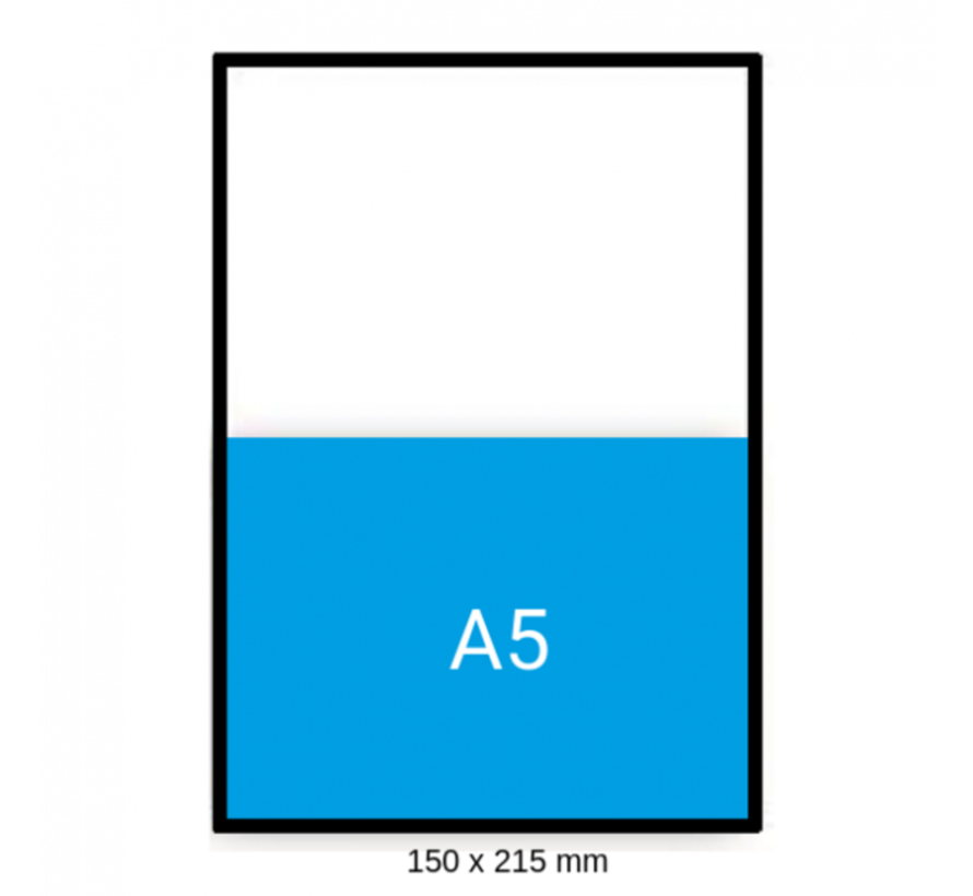 Luchtkussen enveloppen Bruin C - Bubbelenveloppen 150 x 215 mm A5  - Doos met 100 enveloppen