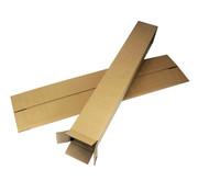 Vierkante verzendkoker 120 x 120 x 1600 mm