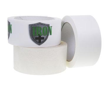 Bedrukte Iron+ Tape met Een Kleur bedrukt 50 mm x 66 meter