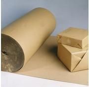 Golfkarton rol met ril - 70 cm x 70 m - Zware kwaliteit 185 gram/m2 - Vouwbaar op elke centimeter