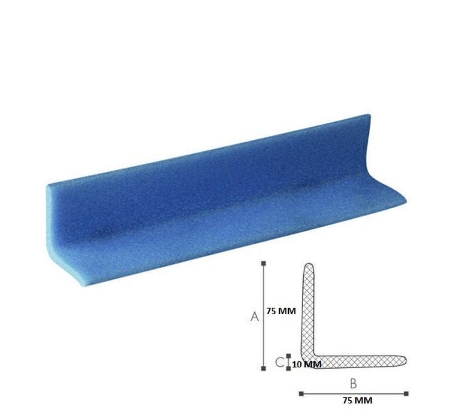 Schuimprofiel L-vorm 75 mm x 75 mm x 10 mm doos met 105 stuks