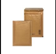 Luchtkussen enveloppen Bruin H18 - Bubbelenveloppen 270 x 360 mm  - Doos met 100 enveloppen