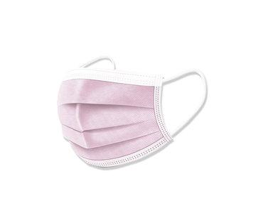 Specipack 3-laags mondkapjes Roze Type I - Gesealde verpakking - 50 stuks - Conform NEN-EN 149:2001+A1:2009