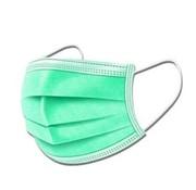 Specipack 3-laags mondkapjes Groen Type I - Gesealde verpakking - 50 stuks - Conform NEN-EN 149:2001+A1:2009