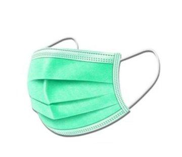 Specipack 3-laags mondkapjes Groen - Gesealde verpakking - 50 stuks - Conform NEN-EN 149:2001+A1:2009