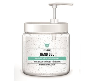 Specipack Specipack reinigende handgel 75% alcohol compleet pakket - 6 refills inclusief 2 pumps