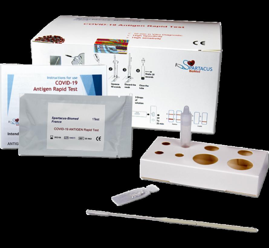 Corona sneltest (25 stuks) - COVID-19 antigen sneltest Spartacus-Biomed