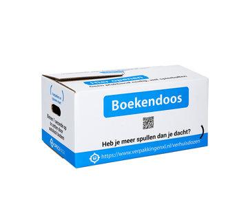 Specipack Boekendoos Premium - Bundel met 10 boekendozen - 35 Liter - Zelfsluitend - Dubbel golf karton - 48 x 32 x 25 cm