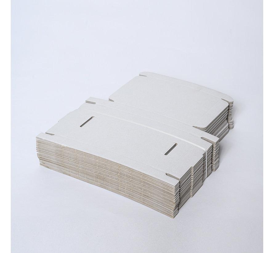 Brievenbusdoos golfkarton E-golf 310 x 215 x 30 mm A4 Wit - Bundel met 50 postdozen