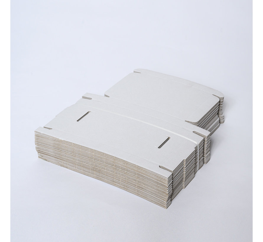 Brievenbusdoos golfkarton E-golf 220 x 155 x 30 mm A5 Wit - Bundel met 50 postdozen