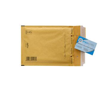 Luchtkussen envelop Bruin C - Bubbelenvelop 150 x 215 mm A5  - Doos met 100 enveloppen