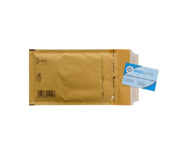 Specipack Luchtkussen envelop Bruin B - Bubbelenvelop 120 x 215 mm A6  - Per 200 enveloppen te bestellen