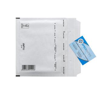 Luchtkussen envelop CD - Bubbelenvelop 180 x 165 mm  - Doos met 100 enveloppen