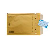 Luchtkussen enveloppen Bruin D - Bubbelenveloppen 180 x 265 mm A5+  - Doos met 100 enveloppen