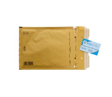 Luchtkussen envelop Bruin D - Bubbelenvelop 180 x 265 mm A5+  - Doos met 100 enveloppen