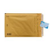 Luchtkussen enveloppen Bruin F16 - Bubbelenveloppen 220 x 340 mm A4  - Doos met 100 enveloppen