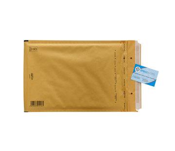 Luchtkussen envelop Bruin F - Bubbelenvelop 220 x 340 mm A4  - Doos met 100 enveloppen
