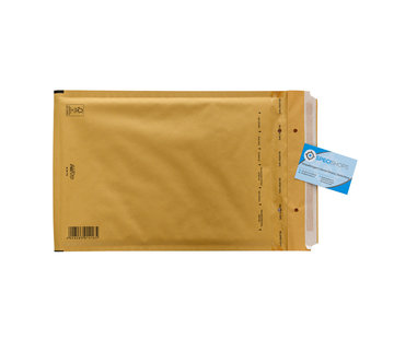 Specipack Luchtkussen envelop Bruin F - Bubbelenvelop 220 x 340 mm A4  - Per 100 enveloppen te bestellen