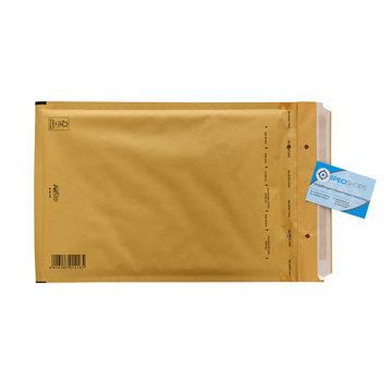 Luchtkussen enveloppen Bruin F - Bubbelenveloppen 220 x 340 mm A4  - Doos met 100 enveloppen